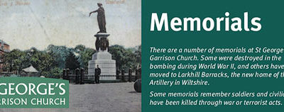 St George's Garrison Church – Memorials